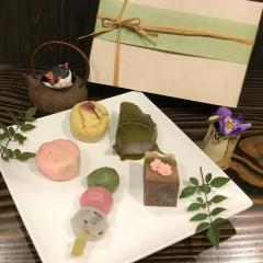 [期間限定]和菓子のお花見セット