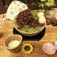 【夏期限定】抹茶のかき氷