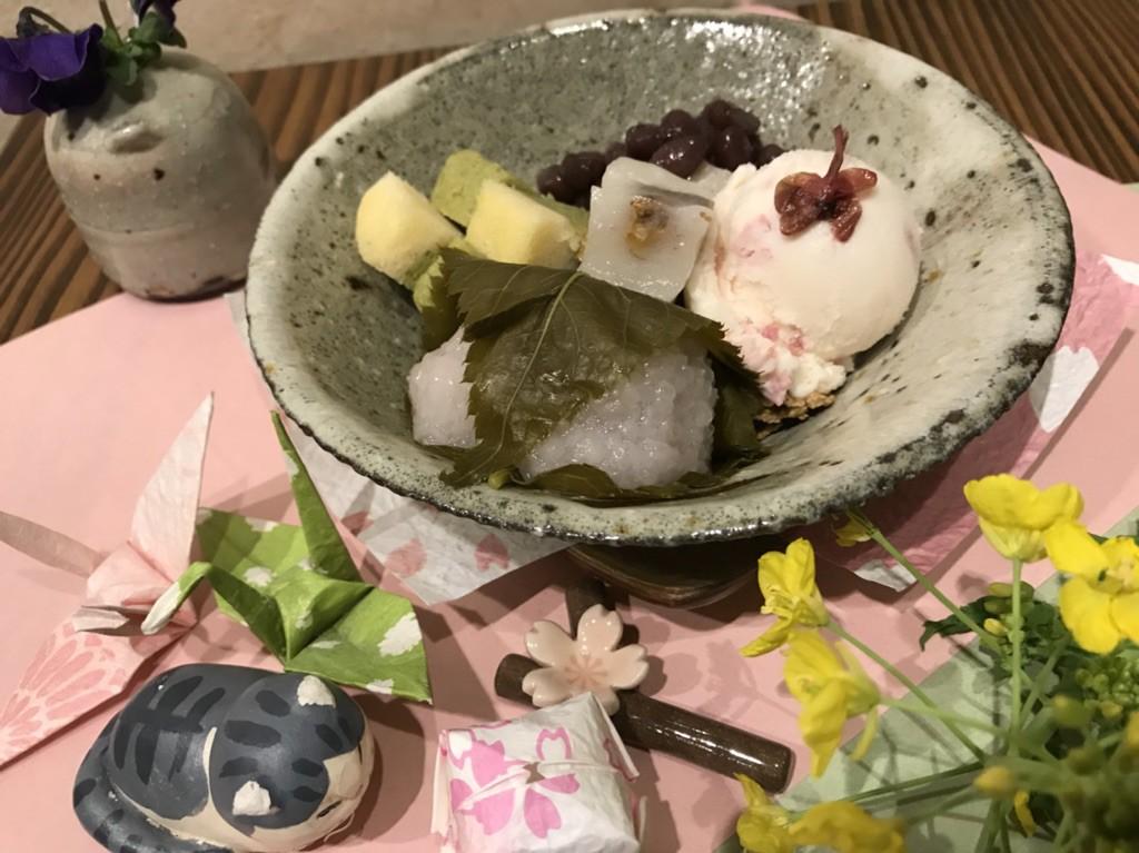 2018桜パフェ